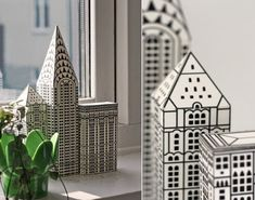 paper nyc buildings