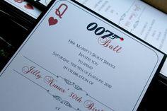 James+Bond+007+Invitation+Casino+007+Wedding+by+trendytreasure,+$3.25