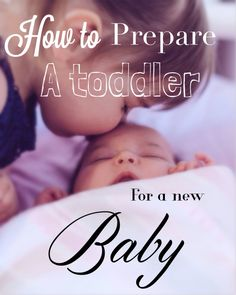 if you're anxious about your toddler reacting when the new baby comes, read how you can prepare your child for that change. tried tips and tricks.