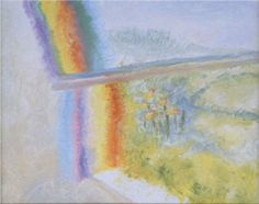 Red into Green the Yellow Goes, 1980 Winifred Nicholson