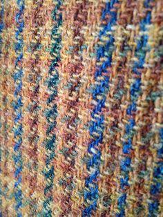 Cloth from a vintage Diplomat Harris Tweed jacket.