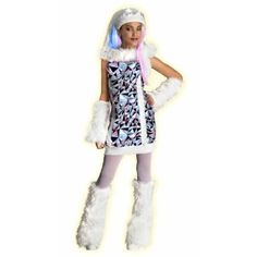 Monster High Abbey Bominable Costume #Halloween #Costumes #Teen #Monsterhigh