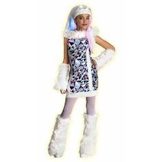 Monster High Abbey Bominable Costume #Halloween #Costumes #Teen #Monsterhigh