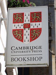 Cambridge University Press Bookshop, Cambridge, England by darwinsbulldog, via Flickr