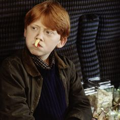 """For his audition tape, Rupert Grint tried something different; he recorded a rap video! """"I did this rap – just basic information about me and how much I wanted to be a part of Harry Potter. It was always Ron I was going for. It was never anyone else. And I got a call from the casting directors!"""" #HarryPotter"""