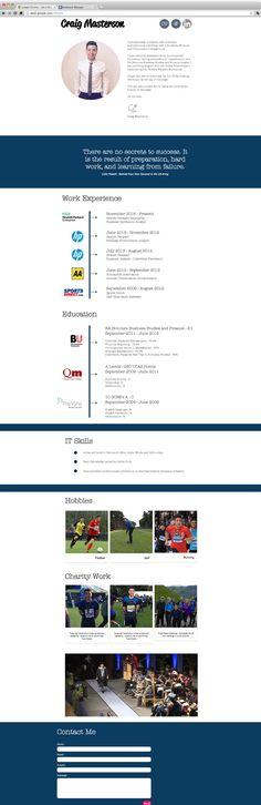 Craig Masterson | CV