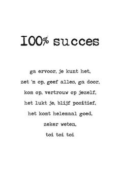 13-06 100% succes