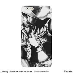 Cute Cowboy Art iPhone 6 Case iPhone 6 Plus Case