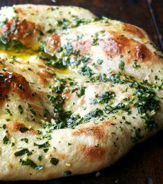 Naked Pizza with Basil & Garlic | FoodiBank