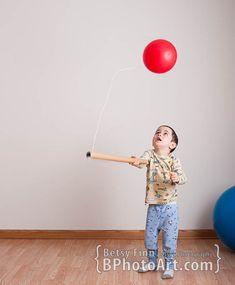Balloons! 10 Easy Indoor Activity Ideas ⋆ Betsy's Photography