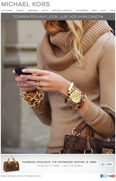 Michael Kors does autumn right. I'll take it all please.