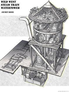 Feng Zhu Design: FZD Term 2 Student Work - 3/4 View Room Designs