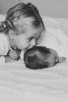 met broertje/zusje