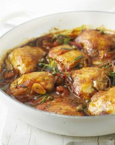 Low FODMAP and Gluten Free - Rosemary chicken with tomato sauce