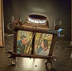 metal wrench picture frame by uniquewelds on etsy - Wrench Picture Frame
