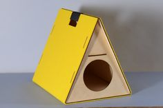 We cut price 25% of our triangular pet-houses - because all our huts are after exhibition. All items are new, but slightly dusty.  Unique hand-made