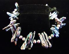 Lovely freshwater pearl bracelet!  #TheCornerShoppe
