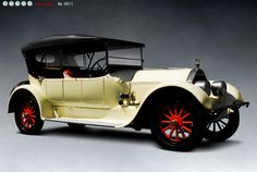 1917 Pierce-Arrow Model 48-B Touring Car