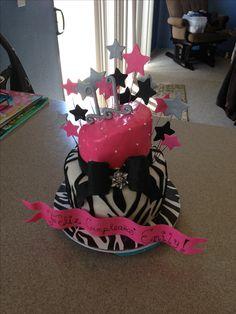 girls birthday cake!