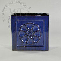 Buy Embossed Glossy Blue Flower Planter at the best wholesale prices. Check this and more Ceramic & Clay Containers for cheap & with national shipping. Ceramic Flower Pots, Flower Planters, Wholesale Flowers And Supplies, Wholesale Vases, Cheap Planters, Ceramic Clay, Emboss, Blue Flowers, Decorative Boxes