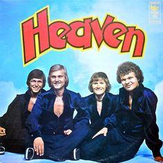 LP-plade med Heaven fra omkring 1975/1976