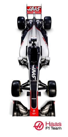 The first Haas F1 Car