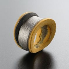 """Bernard S. Abele-SWEDEN (YO THE INAUDIBLE SONG)  """"My work """"Organic Metal"""" is about the old, the new and the ambivalence in between. I want to preserve, or possibly conserve, a snapshot of the aging process and a specific moment in the life/death of organic materials like mostly bread or bread dough"""""""