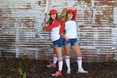 Baseball Couples Costume | CGH | Brooklyn & Bailey