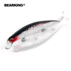 Bearking professional fishing tackle lures,200mm/27g slim minnow  5pcs/lot fishing baits, assorted different colors,