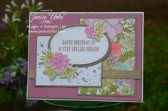 Oh So Succulant Stampin' Up!, stamp set, Janice Urke, Occasions Catalog new Stampin' Up! Plant Projects, 3d Projects, Succulents Garden, Paper Cards, Flower Cards, Homemade Cards, Stampin Up Cards, Birthday Cards, Card Making