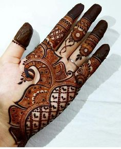 Colourful Henna And Mehndi Design (7)