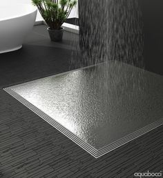 Create your dream walk in shower with the Aquabocci S66 Slimline Series Drain | Available from the Official Aquabocci Online Store http://aquabocci.com/wet-room-shower-kits/s66-shower-kit-418