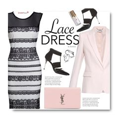 """""""Lovely Lace Dresses"""" by beebeely-look ❤ liked on Polyvore featuring STELLA McCARTNEY, Yves Saint Laurent, classic, lace, sammydress and lacedress"""