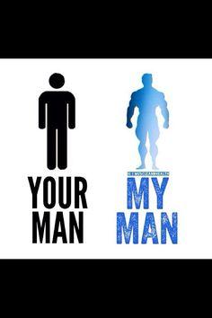 An ordinary man vs. a muscular one