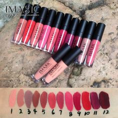 IMAGIC lip kit Rare Lip Paint matte lipstick Waterproof Strawberry Long Lasting Gloss FB lip gloss >>> Click image for more details.