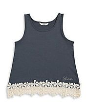 Lace Hem Tank Basic Tank Top, Tank Tops, Lace, Women, Fashion, Clothing, Moda, Halter Tops, Fashion Styles