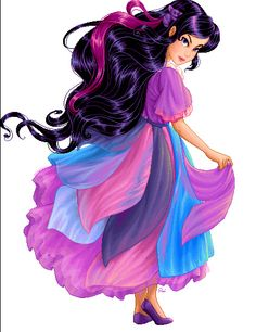 yup - Lady Lovely Locks' Duchess Ravenwaves may or may not be my latest beauty/style muse. Lady Lovely Locks, Superman, Medieval Dress, Old Cartoons, Kids Shows, Illustrations, Shades Of Purple, My Little Pony, Her Hair