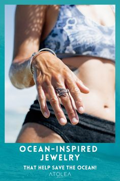 Get some beach therapy with our ocean inspired jewelries. Our jewelries are perfect for beach, summer, ocean and island lovers. We offer free shipping worldwide! Check us out at atoleajewelry.com