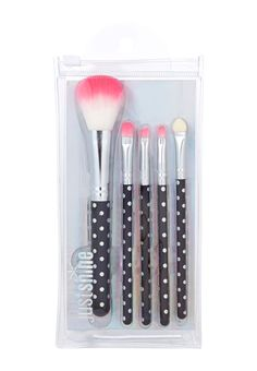 Just Shine 5 Piece Brush Set (original price, $4.90) available at #Justice