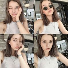 Angelina Danilova as Rahina Julieta Racelyn  Shy Girl and Cold Boy
