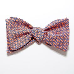 Links - Bow Tie - Peach | Peter-Blair