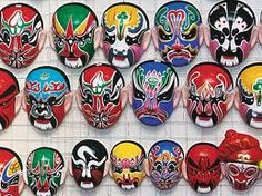 Traditional Chinese Masks and Culture - China culture Chinese Opera Mask, Chinese Mask, Face Painting For Boys, Face Painting Designs, Chinese Artwork, Color Meanings, World Of Color, Traditional Chinese, Chinese New Year