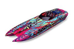 Traxxas-DCB-M41-Brushless-Catamaran-Boat-with-TQi-24-GHz-Radio-and-TSM