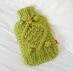 Knitting Pattern For Cable Hot Water Bottle Cover : Hot water bottle cover on Pinterest Old Sweater, Water Bottles and Cable Knit