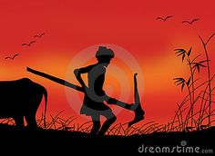 Image result for tamil farmer pictures clipart