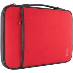 BELKIN B2B081-C02 11 Netbook-Chromebook(TM) Sleeve (Red)