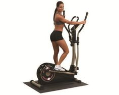 $426.00 The new BFCT1 Elliptical Cross Trainer provides a non-impact cardio workout in a very compact space. The synchronized arms recruit your upper body providing a total body workout. Eight levels of smooth magnetic resistance give all users challenging workouts. The LED console offers feedback for time, distance, speed, calories and heart rate. Transport wheels allow anyone to move the unit easily...