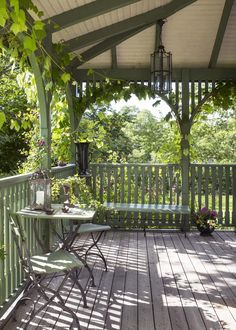 Art Deco villa green carpentry Though old inside concept, a pergola is encountering somewhat of