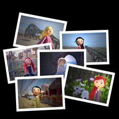 Set of Fine Art Photographs - Photo Doll - Paper Mache Doll - Decoration - Artistic Photograph - Paper Sculpture - Art Doll Photography