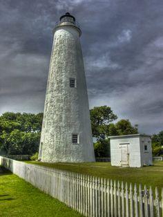 Ocracoke Island Lighthouse at Ocracoke Island, NC